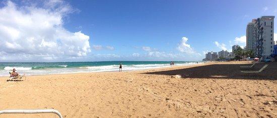 Condado Beach In Front Of Atlantic Hotel