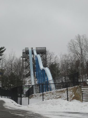 Mt. Olympus Resort : froze waterslide