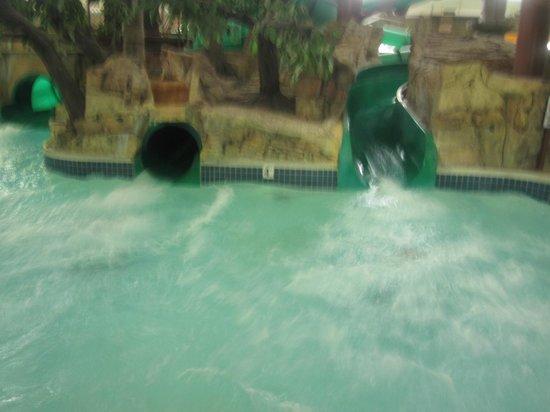 Mt. Olympus Resort : slides