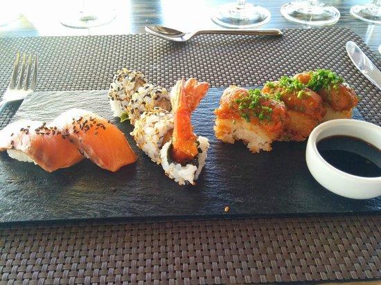 Casarena Bodega y Vinedos: Amazing Sushi