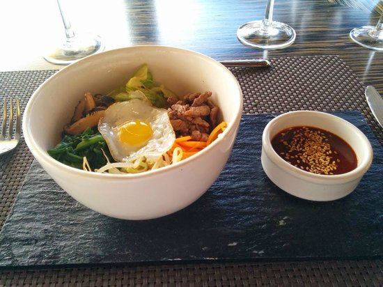 Casarena Bodega y Vinedos : Special Bi Bim Bap on our second day!
