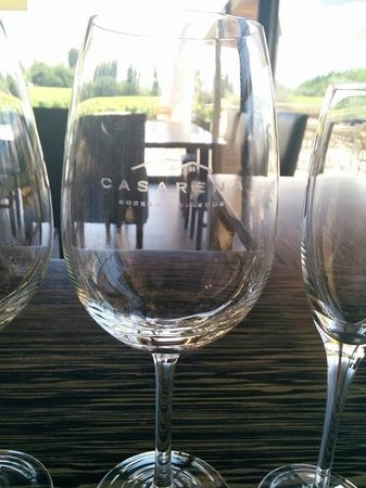 Casarena Bodega y Vinedos : Wine glass from Casarena