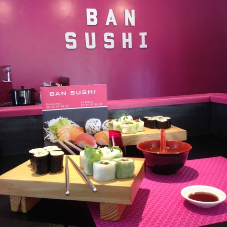 BAN SUSHI La Baule : Le menu végétarien...