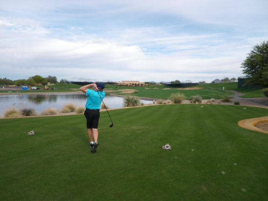Meridian CondoResorts: Birdied 18 at TPC, Nice!