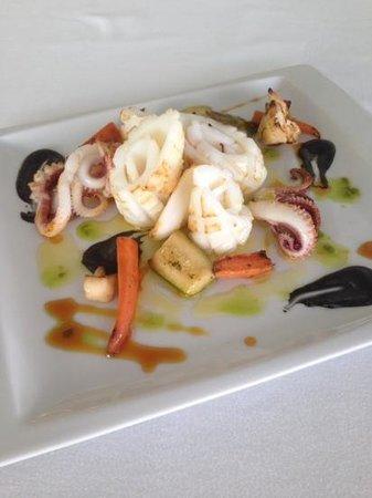 Casa La Titi Barrosa: calamar rizado