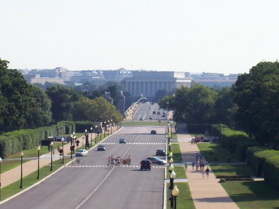 Women in Military Service for America Memorial : View from the upper terrace 2