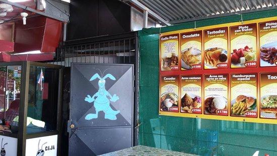 Soda La Hormiga: wall