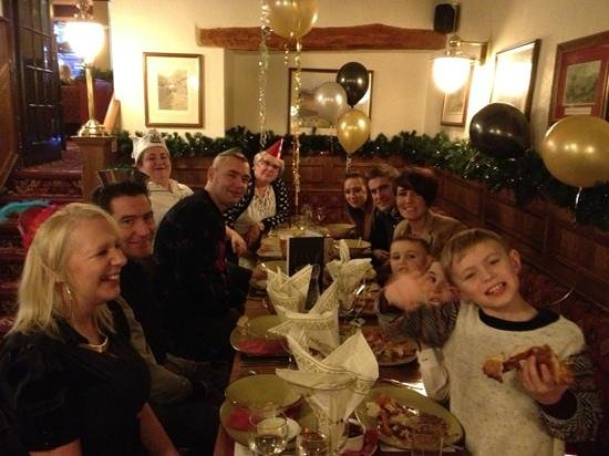 The Kings Arms Hotel: xmas lunch