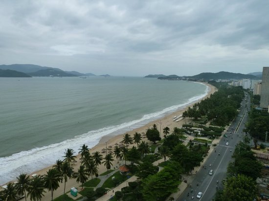 Novotel Nha Trang : View from 7th floor room facing south