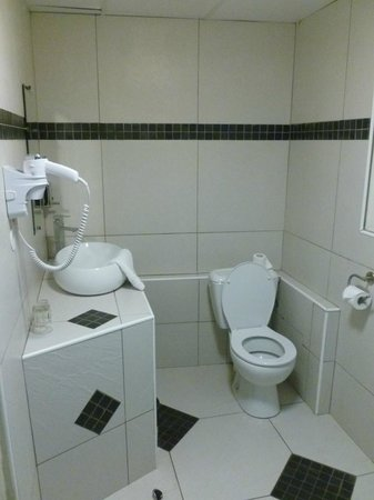 Hotel Select Ocean Indien : vasque et WC