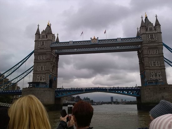 Thames River Boats: Tower Bridge is really close