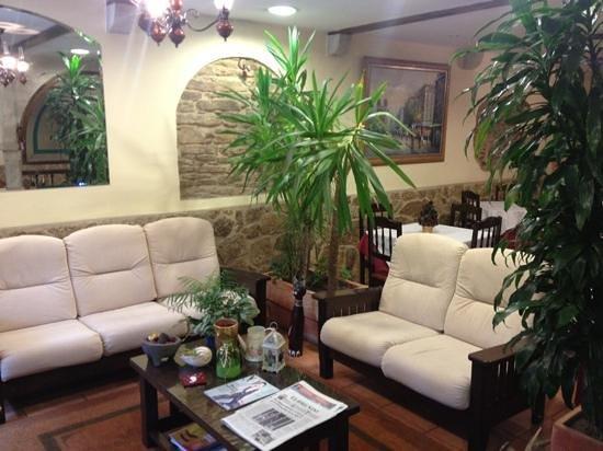 Hotel Pazos Alba: Hall