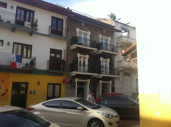 Hotel Casa Nuratti : The hotel itself.