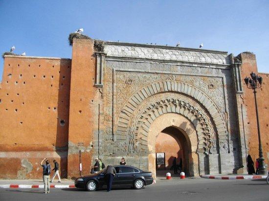 Riad Bab Agnaou: Porte bab agnaou
