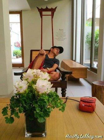 Chern Hostel : Lounge/Reception Area