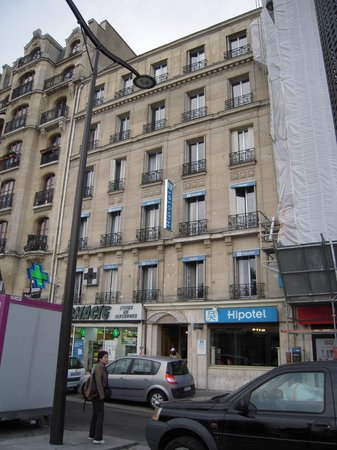 Hipotel Paris Nation: 外観