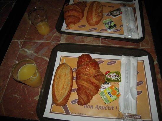 Hipotel Paris Nation: 朝食
