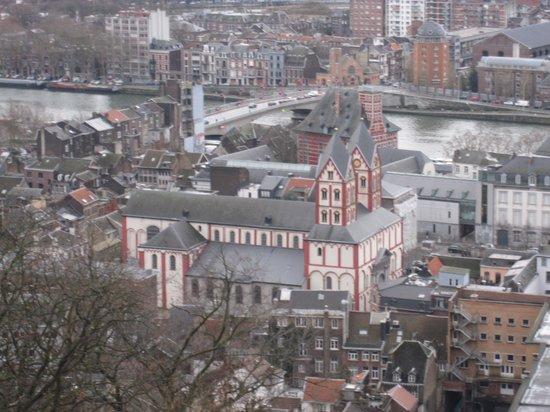 Ramada Plaza Liege City Center: uitzicht op het mooie Liège