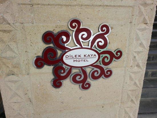 Dilek Kaya Hotel: View from the door to my rooom