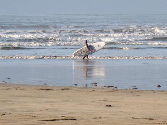 Ceol Na Mara Guesthouse: Lone december surfer