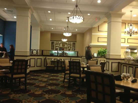 Hilton Garden Inn Jackson Downtown: Breakfast Area