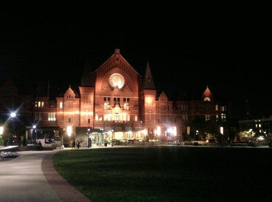 Cincinnati Music Hall - TEMPORARILY CLOSED: View from Washington park