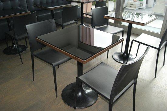 JC Contemporary Hotel : sala colazioni