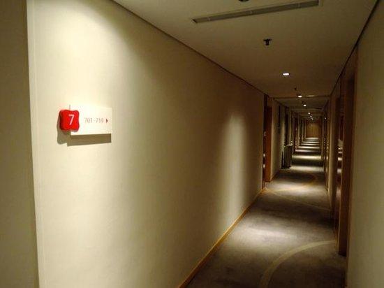 Pentahotel Shanghai : きれいな廊下