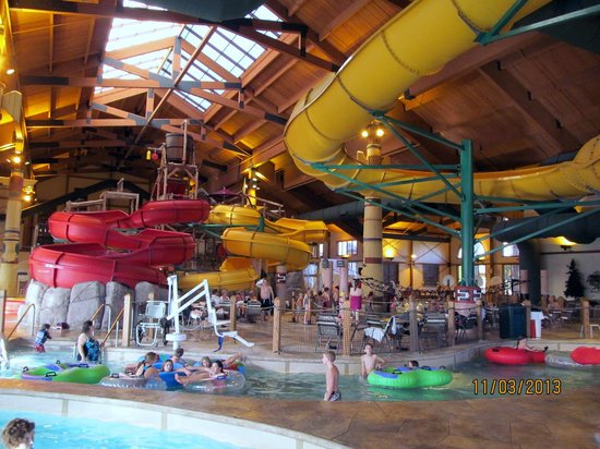 Great Wolf Lodge : Waterpark!