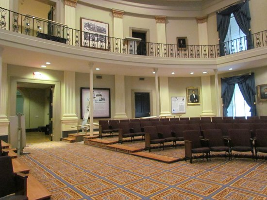 Old Capitol Museum : House Of Representatives chamber