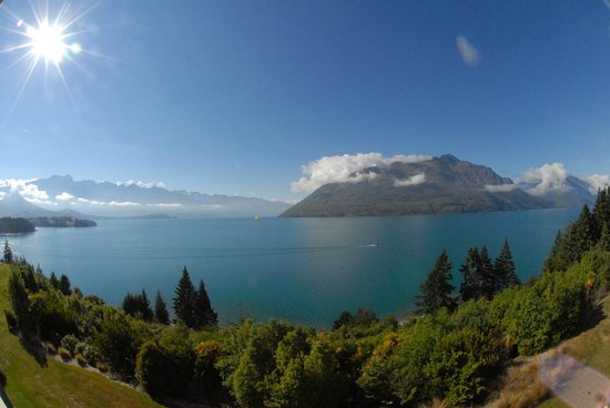 Heritage Queenstown: View from L304 balcony