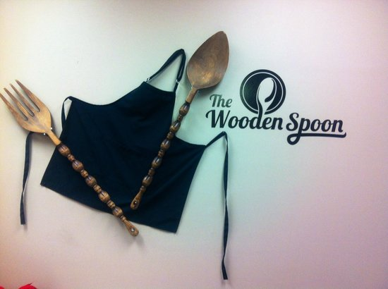 The Wooden Spoon Bistro: The spoon