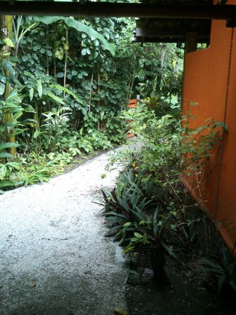 Jardim de Trancoso Pousada : caminho até o quarto 8