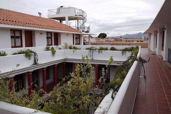 Hotel Villa Antigua: 部屋の入り口から