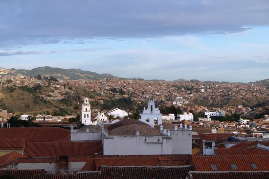 Hotel Villa Antigua: 3階テラスからの眺め(朝)