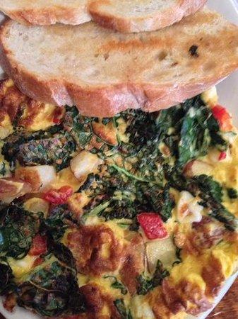 Colossal Cafe: Kale Fritatta
