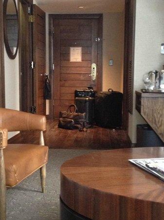 The St. Regis Aspen Resort: 1-bedroom suite. very comfy.