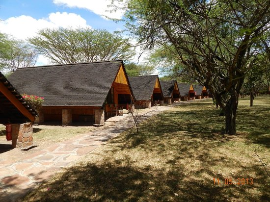 Keekorok Lodge-Sun Africa Hotels : Chalets or family rooms.