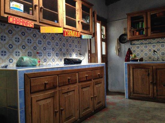 Casa Caracol Hostel: La cocina