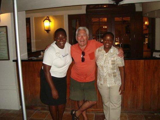Sandals Grande Antigua Resort & Spa: with Anika & Kia
