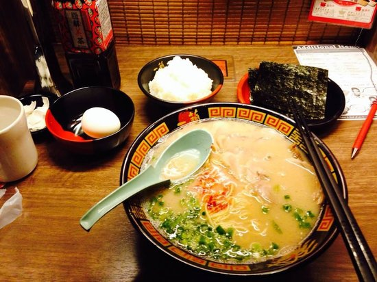 Ichiran Tenjin Nishidori : Medium Flavoured Ramen