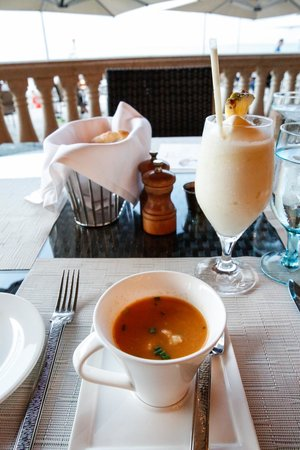 Solana: Caribbean Lobster Bisque