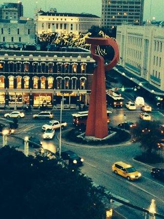 Hilton Palacio del Rio: View from our corner suite on 9th Floor