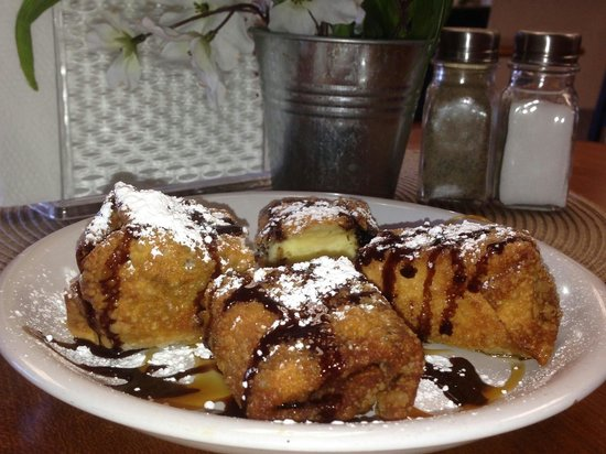 Ryde-Out BBQ: Delectable fried oreo cheesecake mmmm-mmm-mmm!!!!!