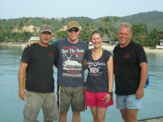 Samui Asia Divers: Gäste mit Staff
