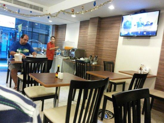 Gateway Hotel: Dinning area