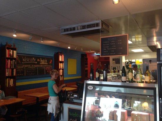 "Hatch Sandwich Bar : Inside ""Hatch"""