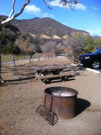 Leo Carrillo State Park and Beach: Campsite