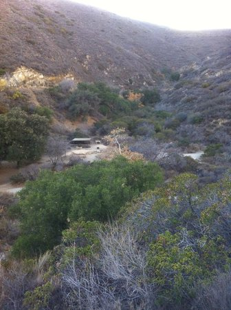 Leo Carrillo State Park and Beach: View from a trail