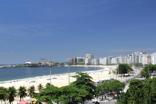 Tulip Inn Rio Copacabana: Linda vista de la playa de Copacabana